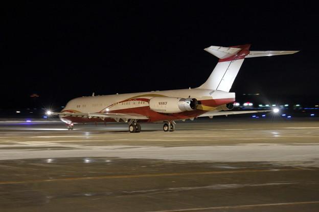 McDonnell Douglas MD-87 N168CF departed