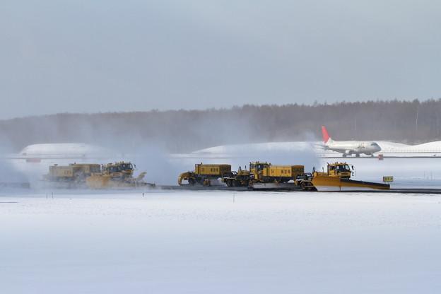 ERJと除雪車