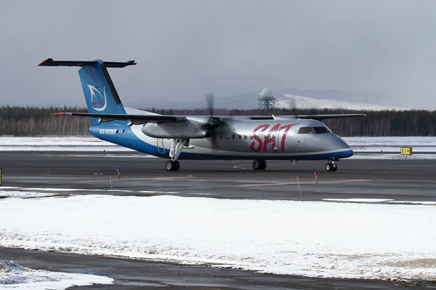 DHC-8-300 RA-67253 SAT塗装のAurora機