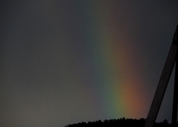 12月の虹