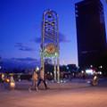 サンプラザの時計塔