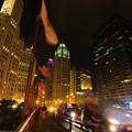Photos: 夜の街を一人でフラフラ