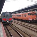 DMU 121 and 47 @ Tottori
