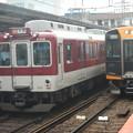 Photos: Kintetsu #8308 and Hanshin #1229? (斜め失礼)