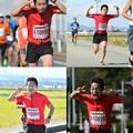 写真: 富山マラソンにて