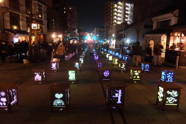 写真: 長野灯明まつり