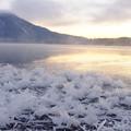 Photos: フロストフラワーと阿寒富士