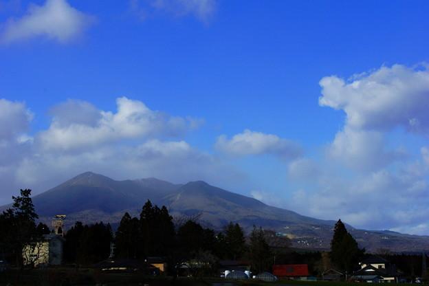 春めいた那須のお山