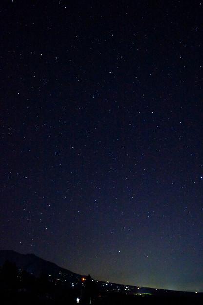 満天の星と