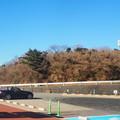 写真: 元旦ドライブ 滝知山駐車場