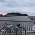 江ノ島と境川