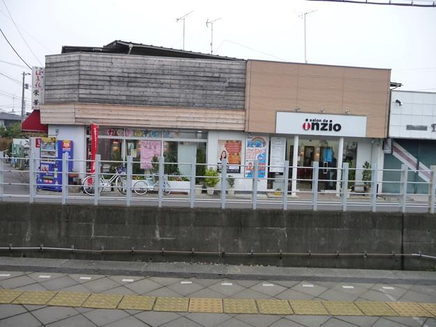 白糸台駅からの景色