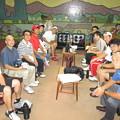 写真: 台風接近中の足利カントリークラブで3組のミニコンペ開催2014.8.10