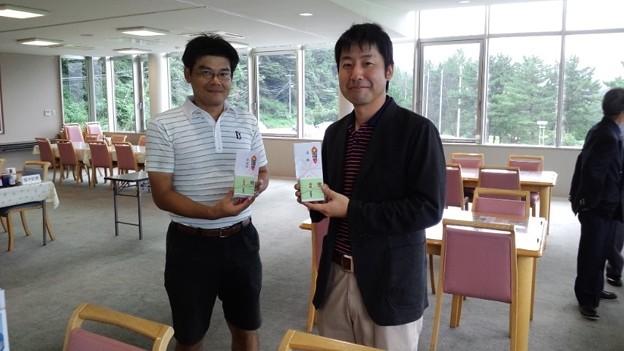写真: 足利カントリークラブ8月Bクラス月例杯競技でワンツーフィニッシュ!!