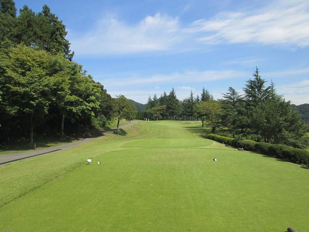 足利城ゴルフ倶楽部3番ショートホール2014.9.23