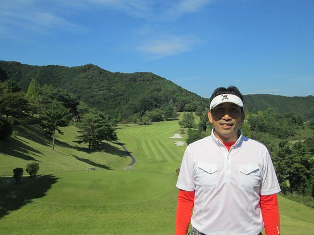足利城ゴルフ倶楽部9番ロングホールの鉄人2014.9.23
