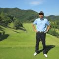Photos: 足利城ゴルフ倶楽部9番ロングホールの幹事2014.9.23