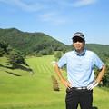 Photos: 足利城ゴルフ倶楽部9番ロングホールの幹事?2014.9.23