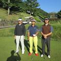 Photos: 足利カントリークラブ多幸コース2014.9.28若様、親さん、Jr