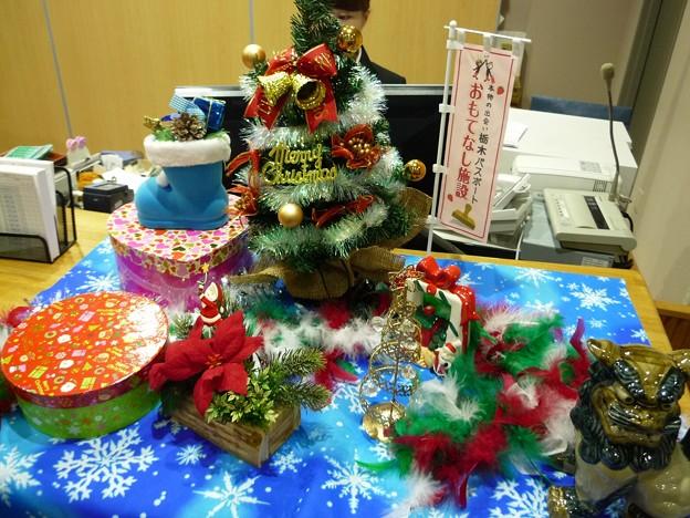 足利カントリークラブクリスマスの準備2015.12.6