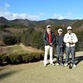 Photos: 足利カントリークラブ多幸コース5番ショートホールでS様ご夫妻と2015.12.19