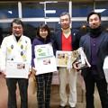 Photos: 足利カントリークラブ企業杯コンぺ団体戦優勝の太陽ゴルフサービスチームの皆さん