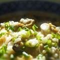 写真: 身がプリプリしこしこの 冬至の牡蠣雑炊もまた絶品。