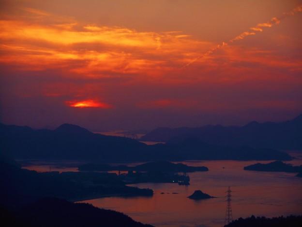 麗しき多島海の夕刻