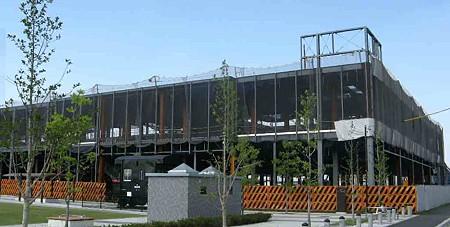 リーフウォーク稲沢 平成21年春オープン予定で工事中-200724-1
