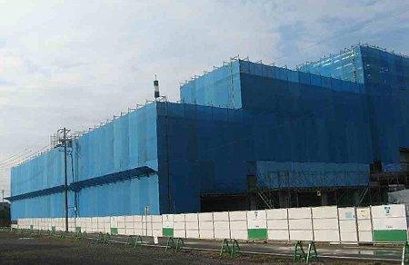 フィール津島店 2009年春オープン予定で建設中2-201120-1