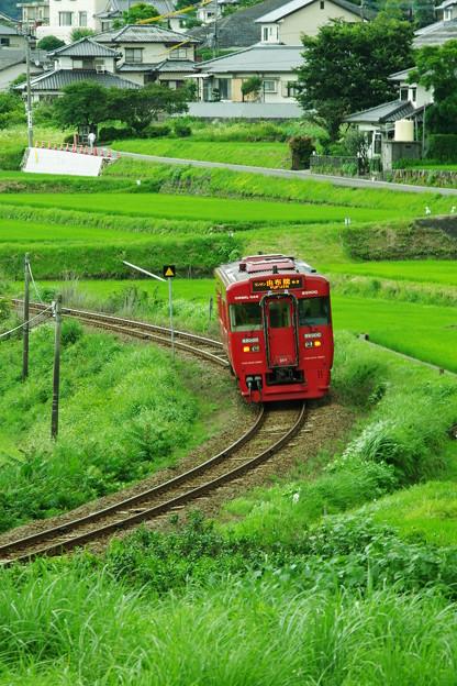 赤い列車、