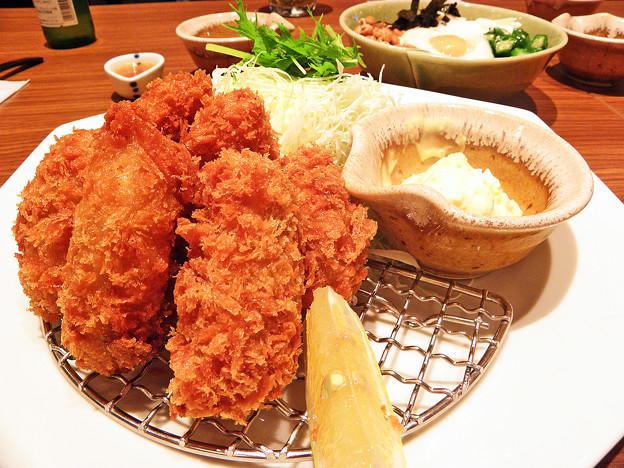 大戸屋 ( 成増 )  牡蠣フライ