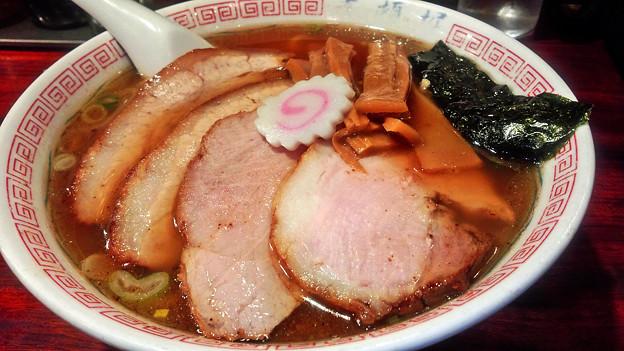 写真: 道頓堀 ( 成増 = ラーメン )  チャーシュー麺