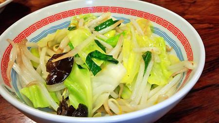 道頓堀 ( 成増 = ラーメン ) 温野菜  with M
