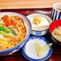 写真: やまだや ( 成増 = やまだ食堂 )  カツ丼a            2016/03/24