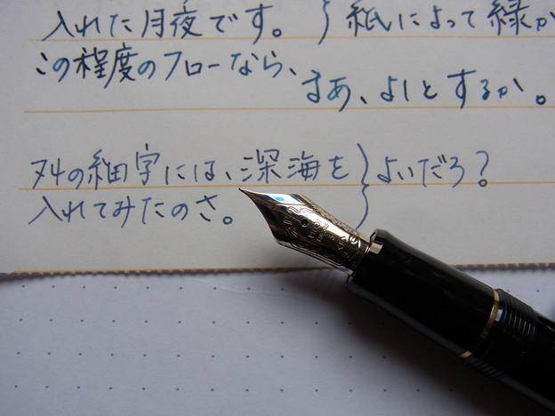 Pilot Custom 74 (F) handwriting 1