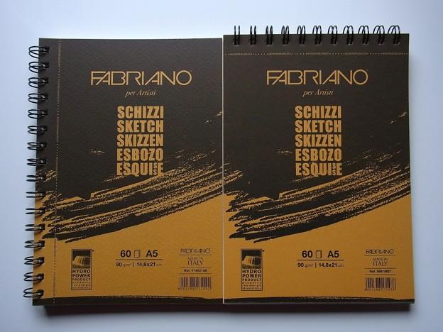 FABRIANO A5 Sketch Book