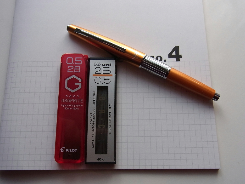 Pentel KERRY Orange Mechanical Pencil #1