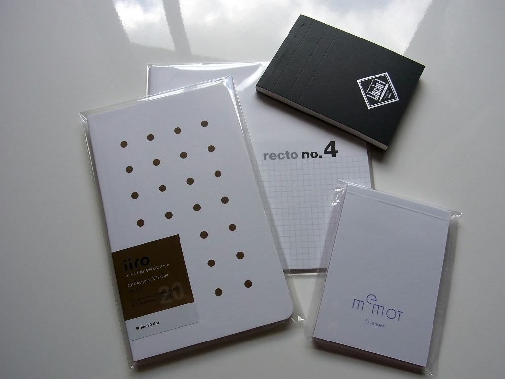 iiro 20 Bronz dot & recto square no.4 & some present goods