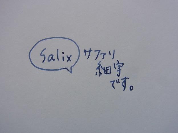 Lamy Safari (F) & Salix & Travellers Note Lightweight Paper handwriting