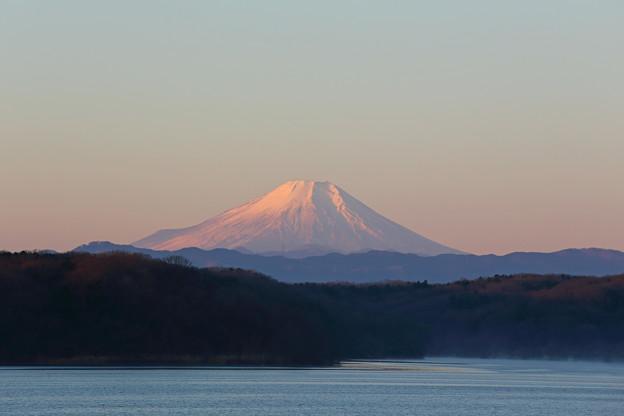 2016年元旦の富士山