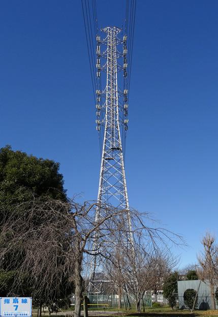 指扇線7号鉄塔