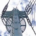 写真: 芳野台線6号鉄塔