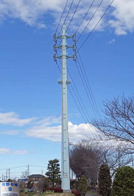 芳野台線9号鉄塔