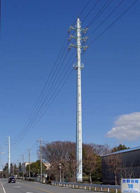 芳野台線19号鉄塔