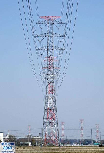 東京中線2040号鉄塔