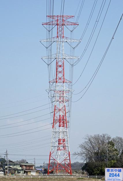 東京中線2044号鉄塔