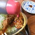 ファミリーレストラン 堀井(高岡市内免)げんこつ大の唐揚げ山盛り定食