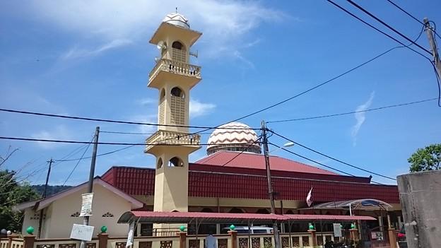 地方のモスクです