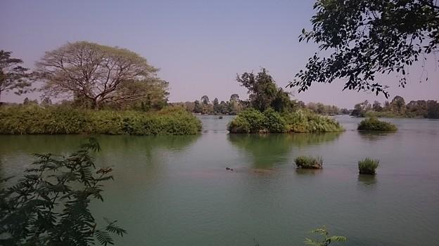 Photos: シーパンドンとはメコン川の中洲にある、4千の島という意味です